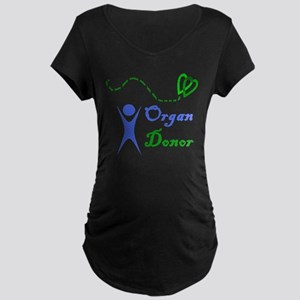 Organ Donor Maternity Dark T-Shirt