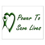 Power To Save Lives Small Poster