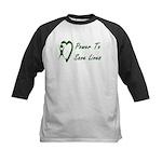Power To Save Lives Kids Baseball Jersey