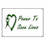 Power To Save Lives Banner