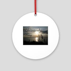 CHESAPEAKE BAY Ornament (Round)
