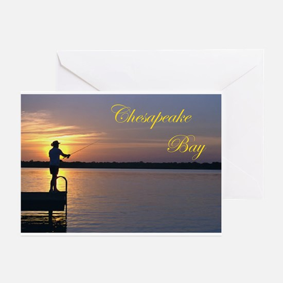 CHESAPEAKE BAY Greeting Cards (Pk of 10)