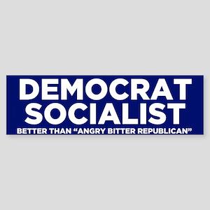 Democrat Socialist Bumper Sticker