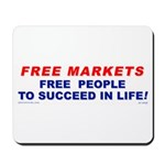Free Markets Free People Mousepad