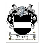 Lucey Coat of Arms Small Poster