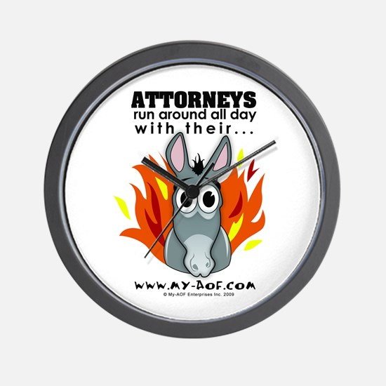 Attorneys Wall Clock