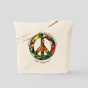 Tote Bag Peace Organic Vegetables
