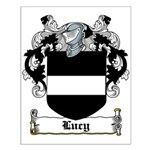 Lucy Coat of Arms Small Poster