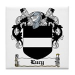 Lucy Coat of Arms Tile Coaster