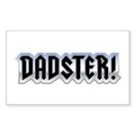 DADSTER Rectangle Sticker 10 pk)