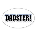 DADSTER Oval Sticker (10 pk)