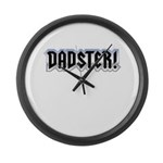 DADSTER Large Wall Clock