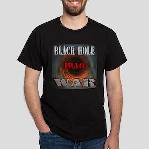 Iraq - Black hole War Black T-Shirt