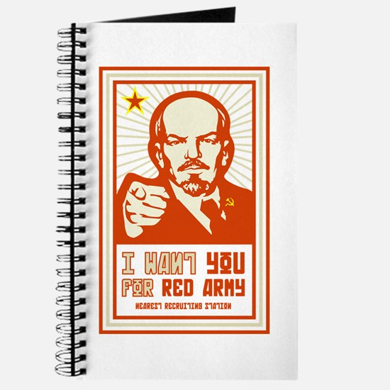 Soviet Red Army I Want You Journal