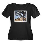 Sea Lions Women's Plus Size Scoop Neck Dark T-Shir