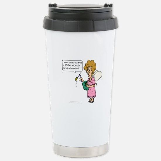 Miracle Worker Stainless Steel Travel Mug