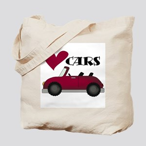 Red Car Love Cars Tote Bag