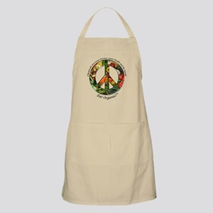 BBQ Apron Peace Organic Vegetables