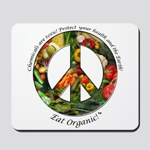 Mousepad Peace Organic Vegetables