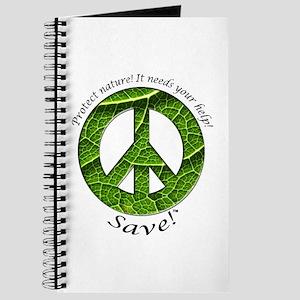 Journal Peace Plant