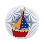 Sailboat Ornament (Round)