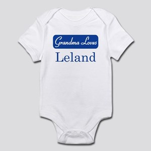 Grandma Loves Leland Infant Bodysuit