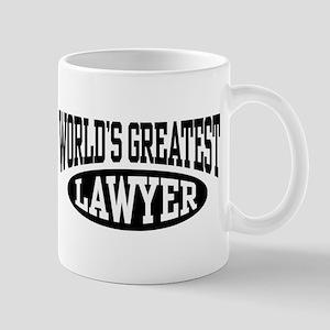 World's Greatest Lawyer Mug