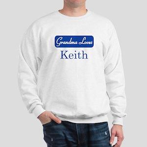 Grandma Loves Keith Sweatshirt