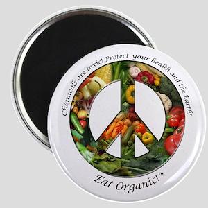Magnet Peace Organic Vegetables