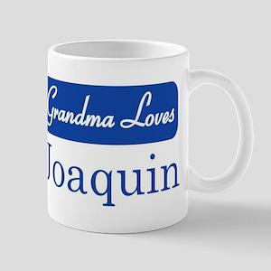 Grandma Loves Joaquin Mug