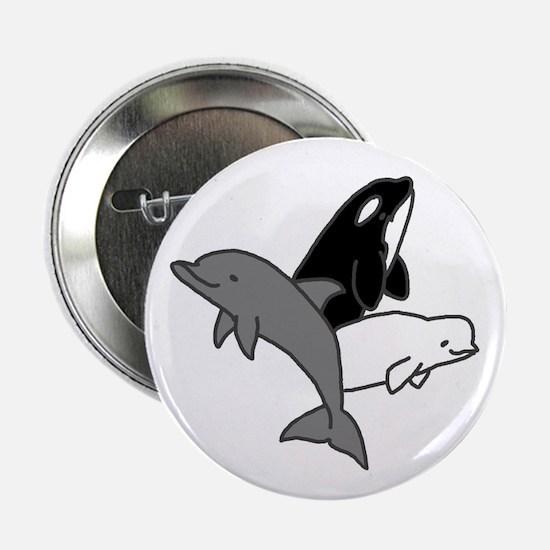 Cetacean Trio Button