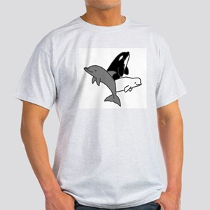 Cetacean Trio Dolphin Light T-Shirt