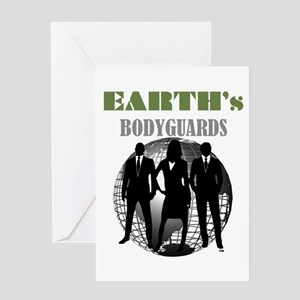 Greeting Card Earth's Bodyguards