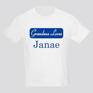 Grandma Loves Janae Kids Light T-Shirt