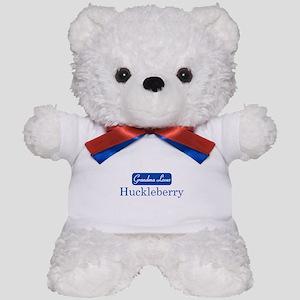 Grandma Loves Huckleberry Teddy Bear