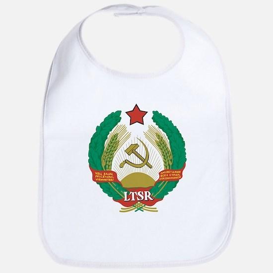 Lithuanian SSR Coat Of Arms Bib