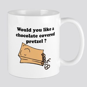 Chocolate covered pretzel Mug