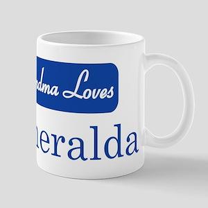Grandma Loves Esmeralda Mug