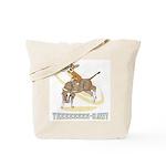 Bull Rider Corgi Tote Bag