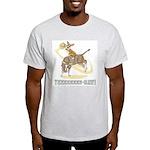 Bull Rider Corgi Light T-Shirt