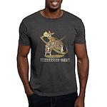 Bull Rider Corgi Dark T-Shirt