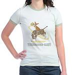 Bull Rider Corgi Jr. Ringer T-Shirt