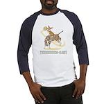 Bull Rider Corgi Baseball Jersey