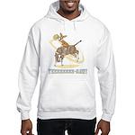 Bull Rider Corgi Hooded Sweatshirt