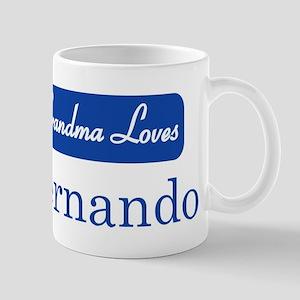 Grandma Loves Fernando Mug