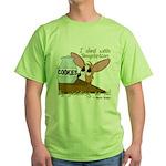 Dealing With Temptation Green T-Shirt