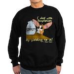 Dealing With Temptation Sweatshirt (dark)