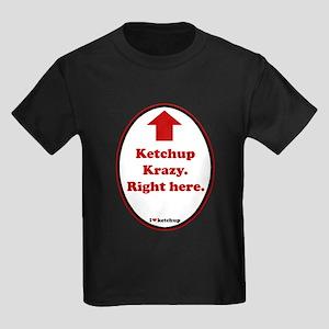 Ketchup Krazy Kids Dark T-Shirt