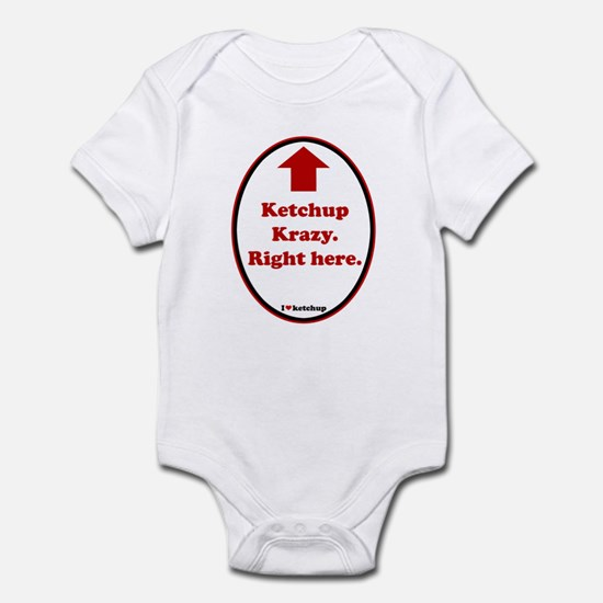 Ketchup Krazy Infant Bodysuit