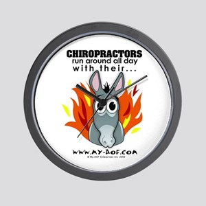 Chiropractors Wall Clock